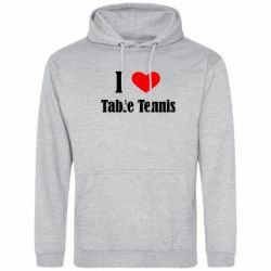 Толстовка I love table tennis