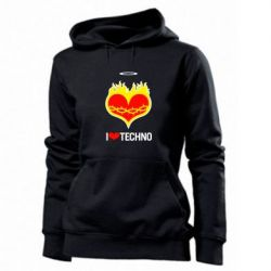 ������� ��������� I love Techno logo - FatLine