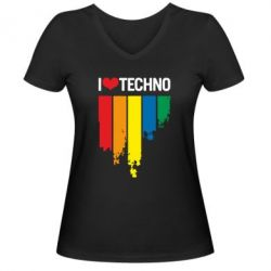 ������� �������� � V-�������� ������� I love techno