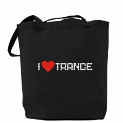 Сумка i love trance - FatLine