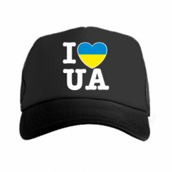 Кепка-тракер I love UA - FatLine