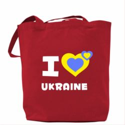 Сумка I love Ukraine - FatLine