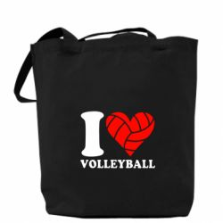 Сумка I love volleyball - FatLine