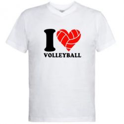 ������� ��������  � V-�������� ������� I love volleyball - FatLine
