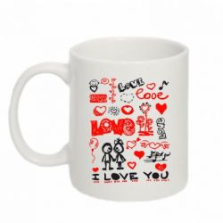 Кружка 320ml I love you - FatLine