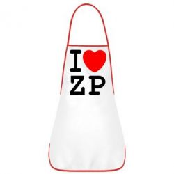 Фартук I love ZP - FatLine