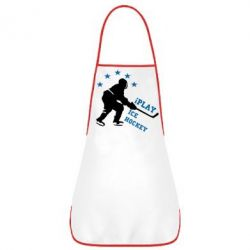 Фартук I play hockey - FatLine