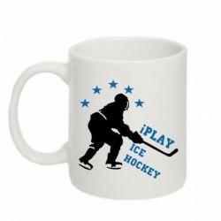 Кружка 320ml I play hockey - FatLine