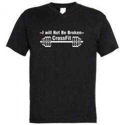 ������� ��������  � V-�������� ������� I will Not Be Broken Crossfit - FatLine