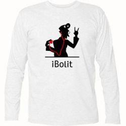 Футболка с длинным рукавом iBolit - FatLine