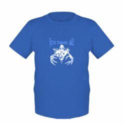 Детская футболка Ice takes all Dota - FatLine