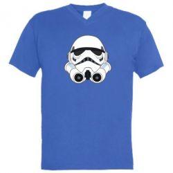 Мужская футболка  с V-образным вырезом Имперский штурмовик - FatLine