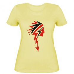Жіноча футболка індіанець - FatLine