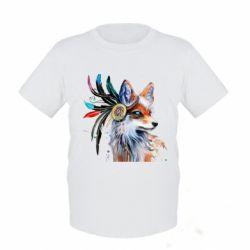 Дитяча футболка Indian Fox
