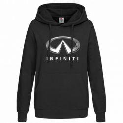 Женская толстовка Infinity Logo 3D - FatLine