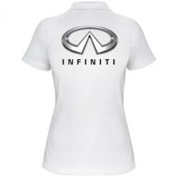 Женская футболка поло Infinity Logo 3D - FatLine