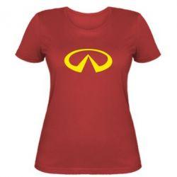 Жіноча футболка Infinity - FatLine