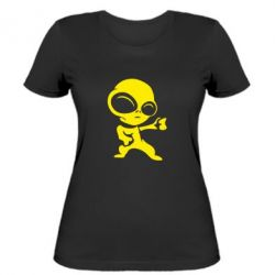Жіноча футболка Інопланетянин - FatLine