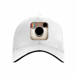 кепка Instagram Logo - FatLine