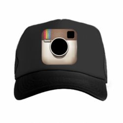 Кепка-тракер Instagram Logo - FatLine