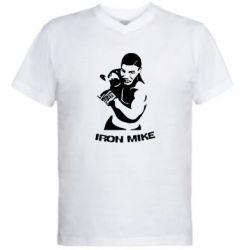 Мужская футболка  с V-образным вырезом Iron Mike - FatLine