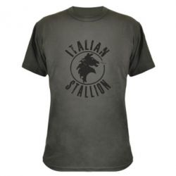 Камуфляжная футболка Italian Stallion
