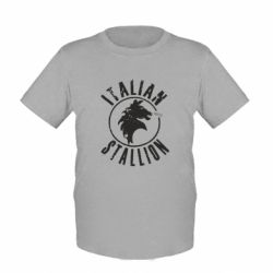 Детская футболка Italian Stallion