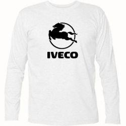 Футболка с длинным рукавом IVECO