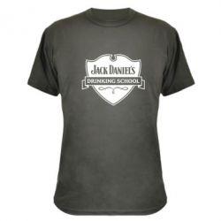 Камуфляжная футболка Jack Daniel's Drinkin School - FatLine