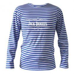Тельняшка с длинным рукавом Jack Daniel's Logo - FatLine