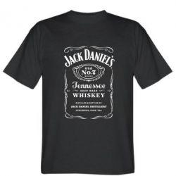 Мужская футболка Jack Daniel's - FatLine