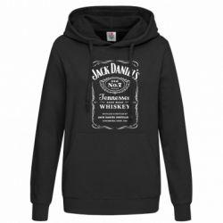 Женская толстовка Jack Daniel's - FatLine