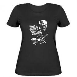 Женская футболка James Hetfield
