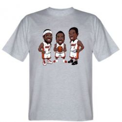 "Футболка ""James, Wade and Bosh"""