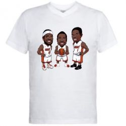 "������� ��������  � V-�������� ������� ""James, Wade and Bosh"" - FatLine"