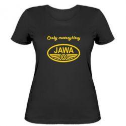Женская футболка Java Cesky Motocyclovy - FatLine