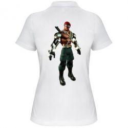 Женская футболка поло Jax