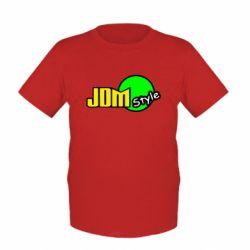 Детская футболка JDM Style - FatLine