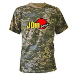 Камуфляжная футболка JDM Style - FatLine