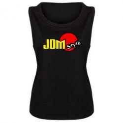 Женская майка JDM Style - FatLine