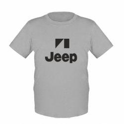 Детская футболка Jeep Logo - FatLine