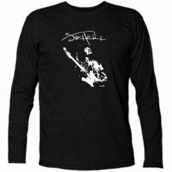 Футболка с длинным рукавом Jimi Hendrix афтограф - FatLine