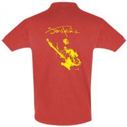 Футболка Поло Jimi Hendrix афтограф - FatLine