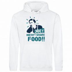 Мужская толстовка Joey doesn't share food!