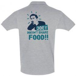 Футболка Поло Joey doesn't share food!