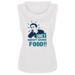 Женская майка Joey doesn't share food!