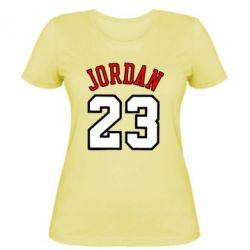 Женская футболка Jordan 23 - FatLine