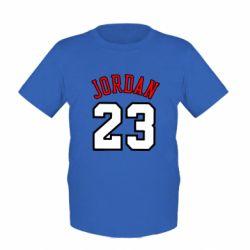 Детская футболка Jordan 23 - FatLine