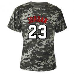 Камуфляжная футболка Jordan 23 - FatLine