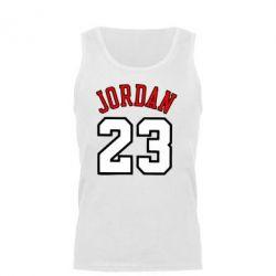 Мужская майка Jordan 23 - FatLine